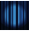 Theater curtain with spotlight vector image vector image