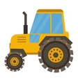 Vehicle tractor farm vector image vector image