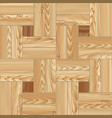 wood floor parquet seamless pattern vector image vector image