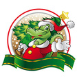 ally claus vector image vector image