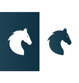 Business horse logo for company firm - isolated vector image vector image