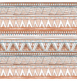 Geometric ethnic seamless pattern Abstract aztec vector image