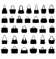 handbags vector image