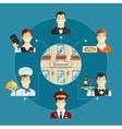Restaurant service vector image vector image