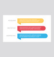 set red and yellow blue elements for vector image