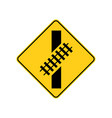 usa traffic road signs you are approaching a vector image