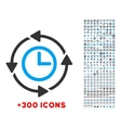 Wayback Clock Icon vector image vector image
