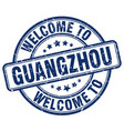 welcome to guangzhou vector image vector image