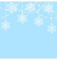 lace bauble decorations vector image
