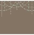 Beads Garlands vector image vector image