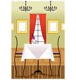 Fancy Restaurant Background vector image vector image