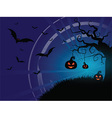 halloween background 1210 vector image vector image