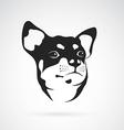 image an chihuahua dog vector image vector image