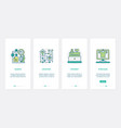 online commerce ordering and payment ux ui vector image