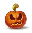 Pumpkins Angry 2 vector image vector image