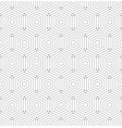 seamless abstract pattern with hexagons vector image vector image