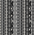 Seamless pattern with tribal ornaments for vector image vector image