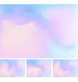 set abstract fluid or liquid gradient blue