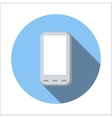 Smartphone flat icon vector image vector image