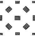 binary code pattern seamless black vector image