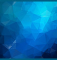 blue light polygonal which consist of triangles vector image vector image