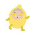 cute kids character kid vector image vector image