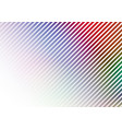 diagonal lines on colors background vector image