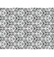 geometric seamless pattern in dark colors on an vector image vector image