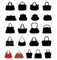 handbags 2 vector image vector image