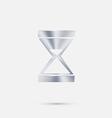 hourglass waiting vector image vector image