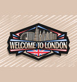 logo for london vector image