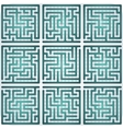 Set of Maze for kids