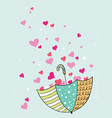 valentine cards trendy cards for valentines day vector image