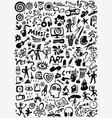 art tools - icon set vector image