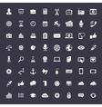 Big universal icon set vector image vector image
