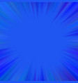 blue abstract hypnotic star burst background vector image vector image