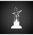 Cinema award icon vector image vector image