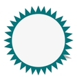 circular badge icon vector image