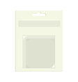 Empty product packaging vector image vector image