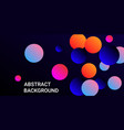 gradients balls shapes vector image