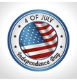 independence of america design vector image vector image