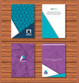 material design lines set covers vector image vector image