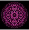 ornamental line pattern decorative texture vector image vector image