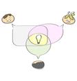 Team work vector image vector image