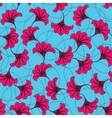 Flowers background Seamless pattern vector image