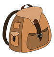 backpack-2-1 vector image vector image