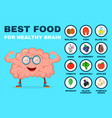 best food for strong brain strong healthy