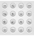 Button Design Protection and Security Icons Set vector image vector image