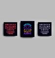 dreams always fashion slogan for printing neon vector image vector image