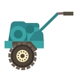 Farm plow vector image vector image
